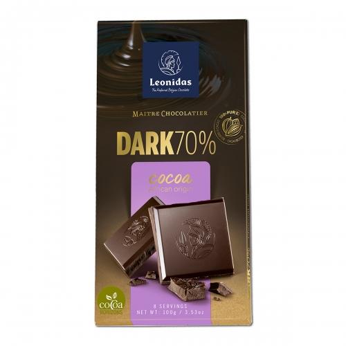 Leonidas Темный шоколад 100 гр.