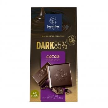 Leonidas Темный шоколад 85% 100 гр.