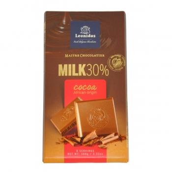 Leonidas Молочный шоколад 100 гр.