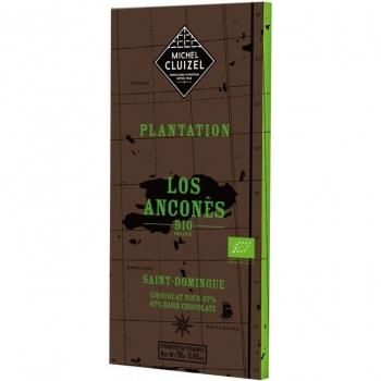 Michel Cluizel Горький шоколад 67% Плантация Лос Анконес 70 гр